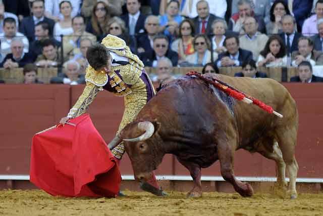 Rubén supo llevar largo al animal