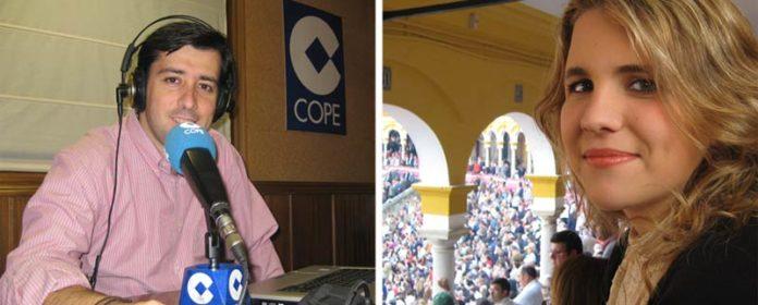 Las dos nuevas caras del equipo de SEVILLA TAURINA: Antonio Girol y Ana Moreno.