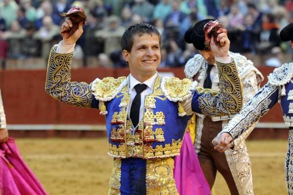 La felicidad en el rostro del diestro madrileño era absoluta.