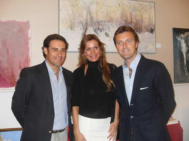 Litri y El Tato, entre otros, asistieron a la inauguración. (FOTO: Toromedia)