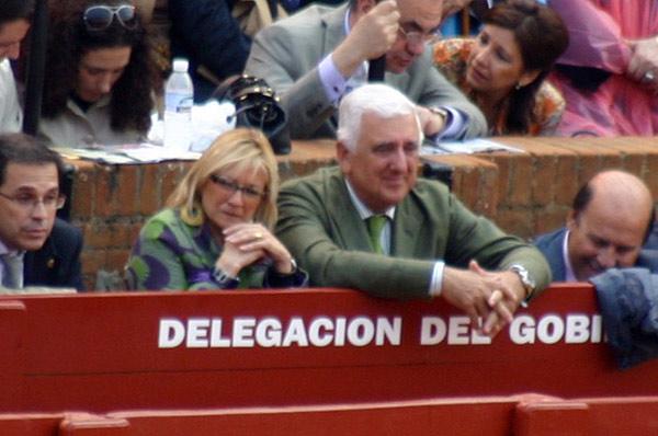 La delegada Carmen Tovar ha invitado hoy al presidente de los empresarios andaluces.. ¿hará igual con los sindicalistas? (FOTO: Javier Martínez)
