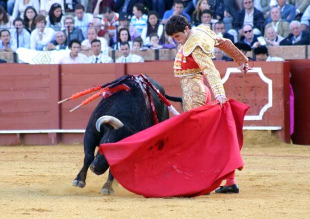 El francés Patrick Oliver tiene buen concepto del toreo. (FOTO: Javier Martínez)