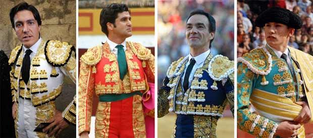 Barrera, Morante, El Cid y Luque, sevillanos para Bilbao.