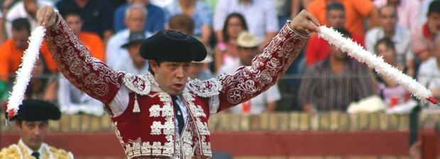 El banderillero sevillano Curro Molina (FOTO: Javier Martínez)