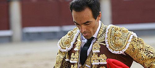 El Cid se retira a las tablas esta tarde en Madrid. (FOTO: Cabrera / burladero.com)
