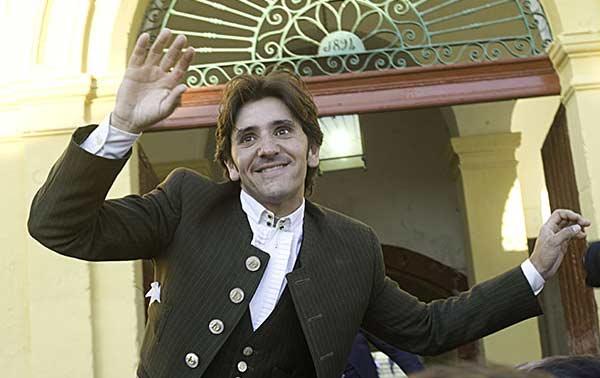 Diego Ventura saliendo esta tarde a hobros en Jerez. (FOTO: Carlos Núñez / Toromedia)