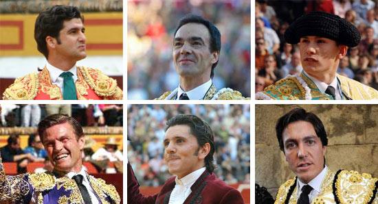 Morante, El Cid, Luque. Espartaco, Ventura y Barrera, sevillanos para el fin de semana.