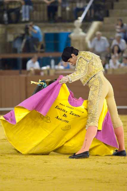 Borja Álvarez. (FOTO: Sevilla Taurina)