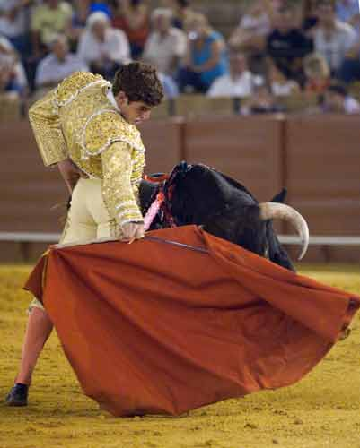 Fernando Adrián. (FOTO: Sevilla Taurina)