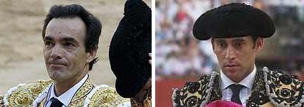 Los sevillanos El Cid y Luis Mariscal.
