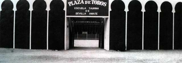 La placita de entrenamiento de Sevilla-Amate.