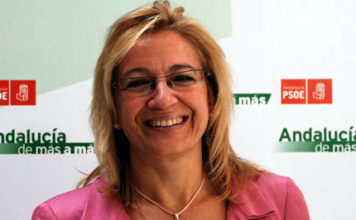 La delegada de la Junta en Sevilla, la socialista Carmen Tovar.