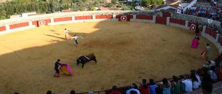 Vista de la plaza de El Castillo. (FOTO: Javier Martínez)