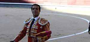 Víctor Puerto esta tarde en Madrid. (FOTO: Iván de Andrés / burladero.com)