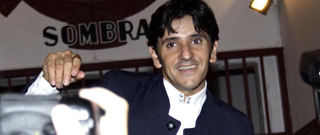 Diego Ventura en su salida a hombros en Ciudad Real.