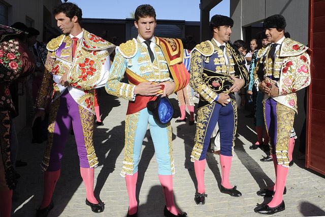 Vilches, Luque, Fandi y Cayetano. (FOTO: Matito)