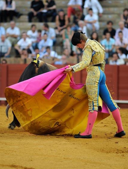Javier Jiménez. (FOTO: Sevilla Taurina)