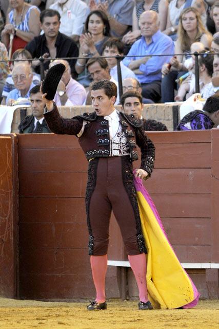El banderillero Perico. (FOTO: Sevilla Taurina)