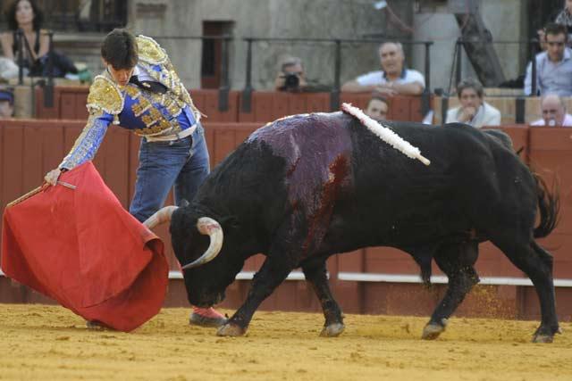 Esaú Fernández. (FOTO: Sevilla Taurina)