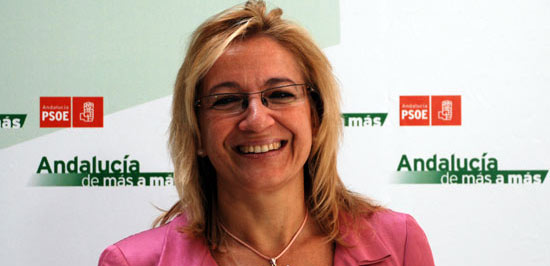 La delegada de la Junta, Carmen Tovar, y responsable de Política Institucional de PSOE-Sevilla.