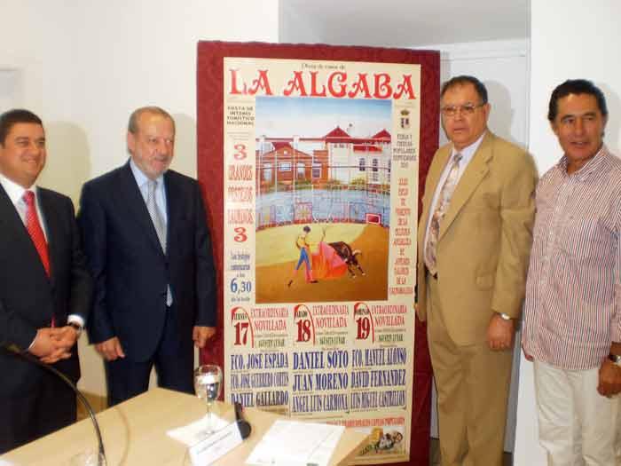 Acto de presentación del cartel taurino de La Algaba.