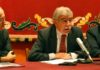 Manuel Brenes, clausurando el congreso hoy en la Maestranza. (FOTO: Javier Martínez)