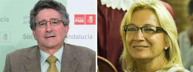 El consejero de Gobernación, Luis Pizarro, y la delegada de la Junta en Sevilla, Carmen Tovar, responsables taurinos a nivel andaluz y sevillano, respectivamente