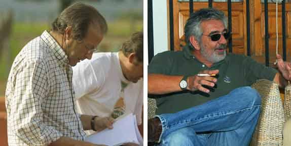 El ganadero Fernando Domecq (Zalduendo) y el empresario Eduardo Canorea.