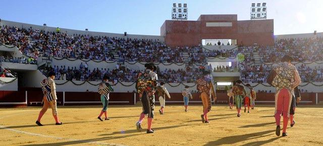 Paseíllo inaugural en Utrera el pasado 8 de septiembre. (FOTO: Turismo de Utrera)