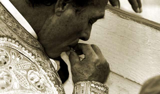 El maestro Curro Romero. (FOTO: David Cordero)