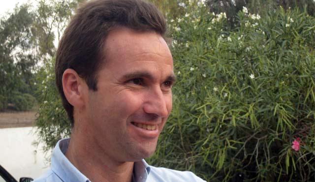 El ganadero Álvaro Núñez.