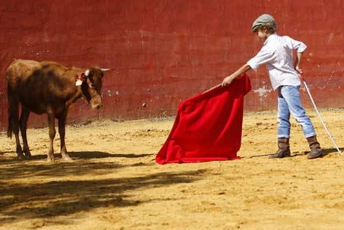 El nuevo Manolo Vázquez. (FOTOS: Pepe Sánchez / 'Toros para todos')