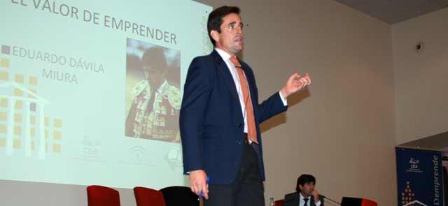 Dávila Miura, en una de sus intervenciones. (FOTO: Toromedia)