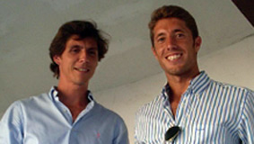 Los sevillanos César Girón y Manuel Escribano.
