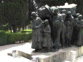 Impresionante mausoleo de Joselito 'El Gallo'.
