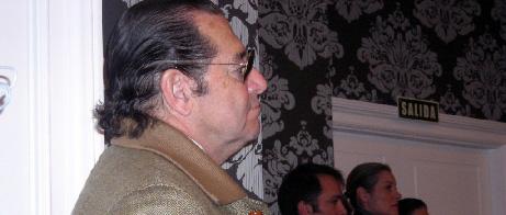 El apoderado Pepe Luis Segura.