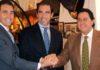 Luis Mariscal, Salvador Cortés y Tomás Campuzano. (FOTO: Javier Martínez)