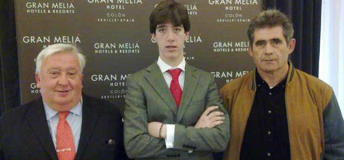 Rodríguez de Moya, Esaú Fernández y José Manuel Espinosa 'Lolo'.
