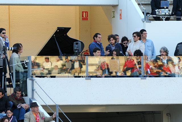Cante gitano y piano unidos para la ocasión en Utrera. (FOTO: Matito)