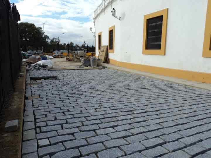 Los trabajos de pavimentación están prácticamente concluidos. (FOTO: Javier Martínez)