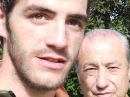 El diestro Pepe Moral y su apoderado, Manolo Cortés. (FOTO: Ambitotoros)