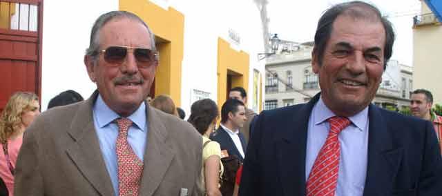 Eduardo y Antonio Miura, actuales responsables. (FOTO: Sevilla Taurina)