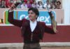 Diego Ventura con los máximos trofeos logrados en su segundo. (FOTO: Arturo Galván)