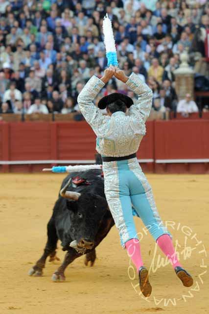 Curro Javier y 'Arrojado'.