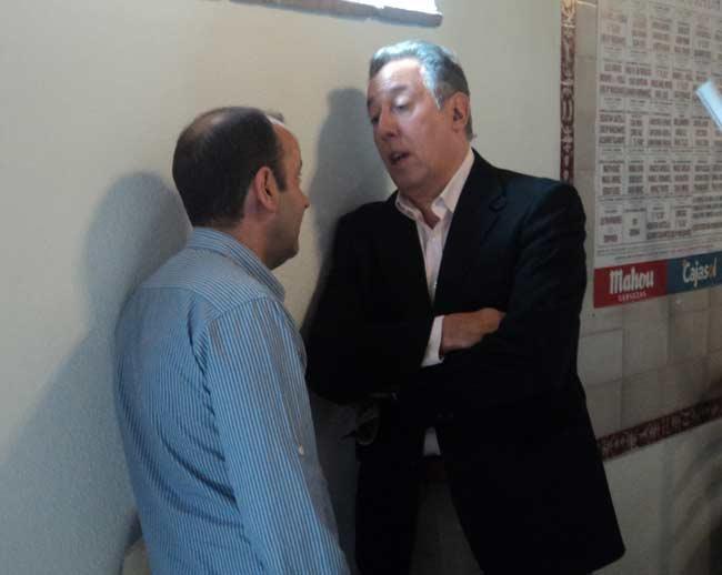 Álvaro Acevedo y Federico Arnás. (FOTO: Javier Martínez)