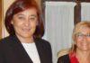 La presidenta Anabel Moreno, e primer término, junto a la delegada Carmen Tovar, quien la nombra. Ninguna de las dos aceptan someterse a una entrevista de SEVILLA TAURINA.