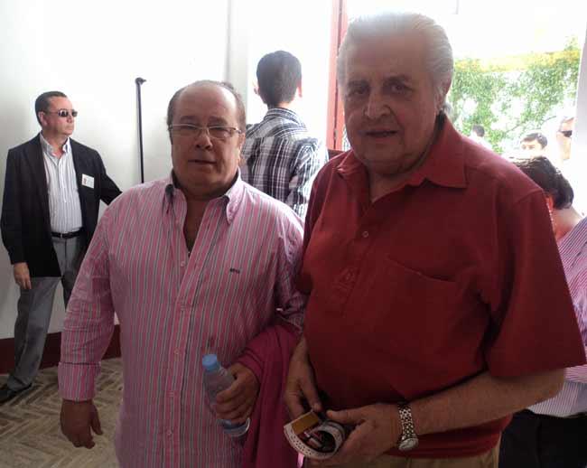 Paco Arévalo y Rafemo. (FOTO: Javier Martínez)
