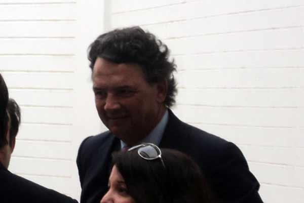 Carlos Núñez, presidente de la Unión de Criadores de Toros. (FOTO: Javier Martínez)