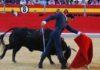 Pase de pecho de El Cid esta tarde en Granada. (FOTO: Marisa Fernández / burladero.com)