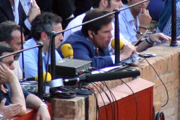 Y Dávila Miura, comentarista. (FOTO: Javier Martínez)